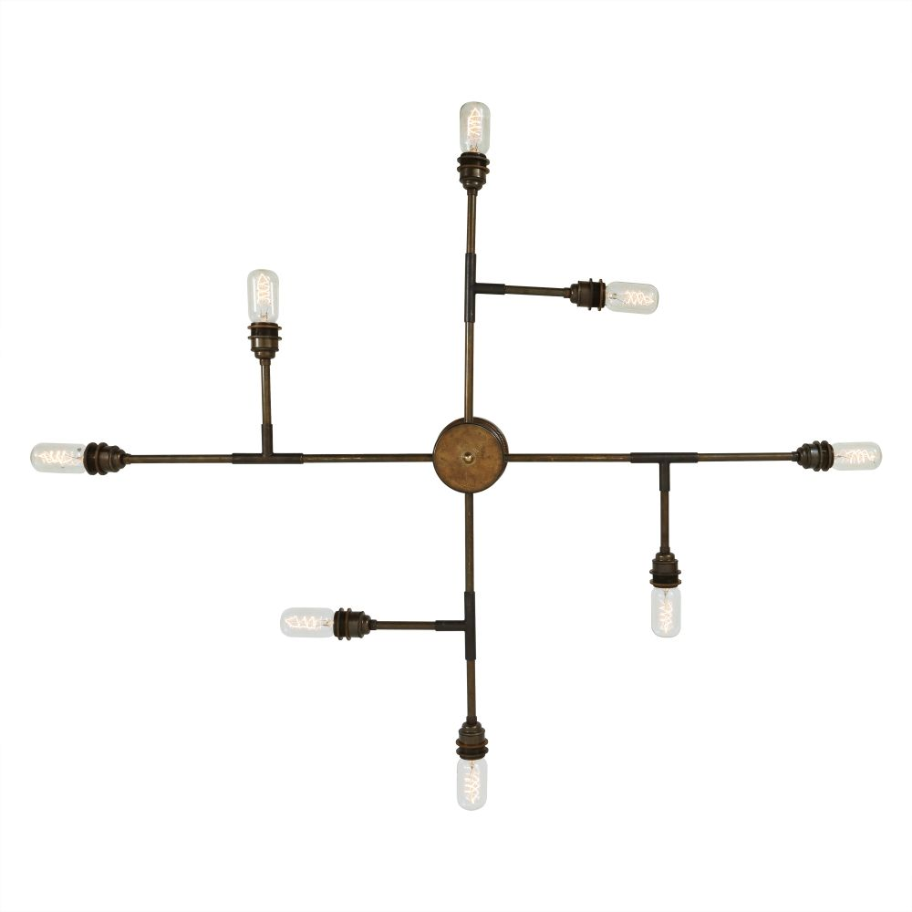 San Felipe 8 Arm Chandelier by Mullan Lighting