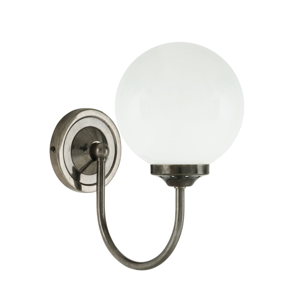 Bragan Globe Wall Light by Mullan Lighting