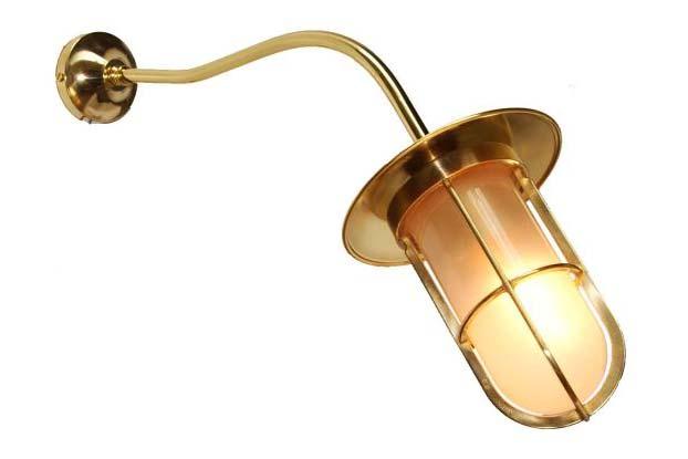 Brom Well Glass Wall Light by Mullan Lighting