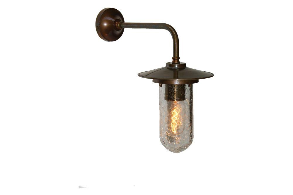 Florin Well Glass Wall Light by Mullan Lighting