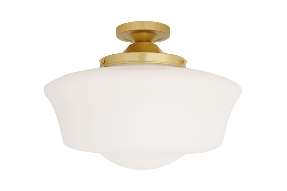 Schoolhouse Ceiling Light by Mullan Lighting