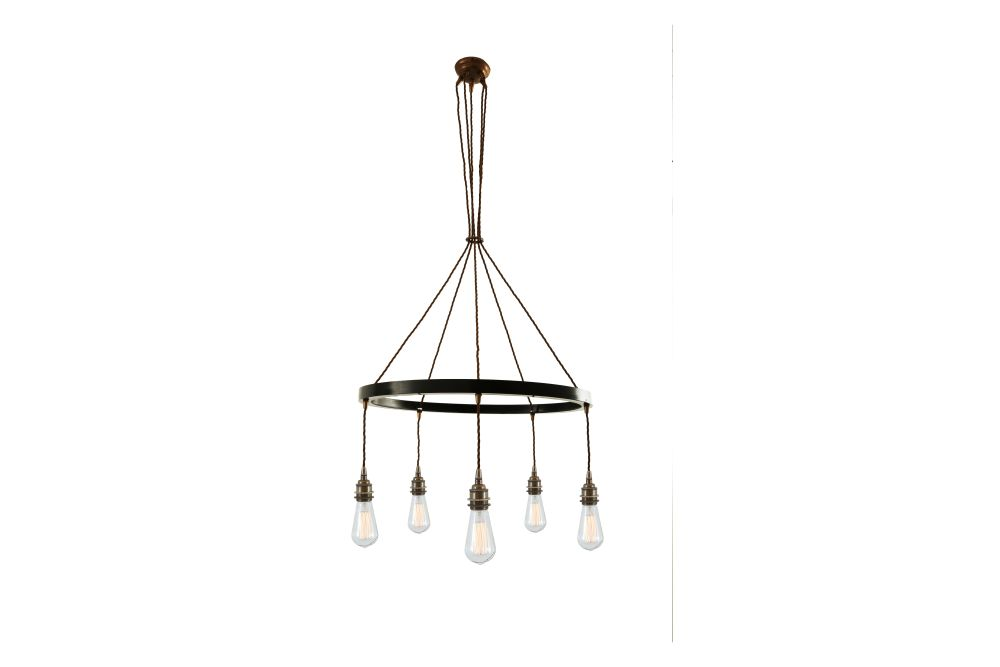 Lome 1 Tier Chandelier by Mullan Lighting
