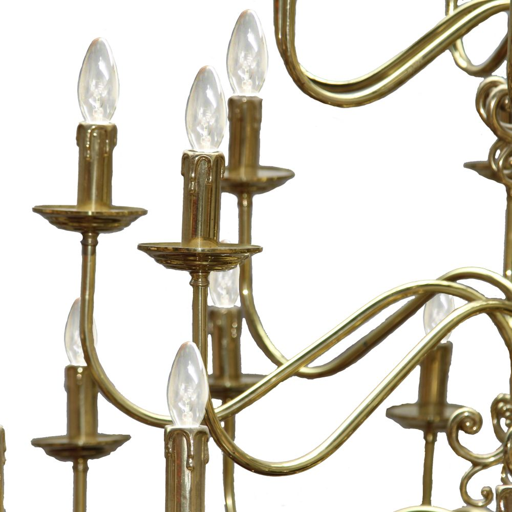Flemish Chandelier by Mullan Lighting