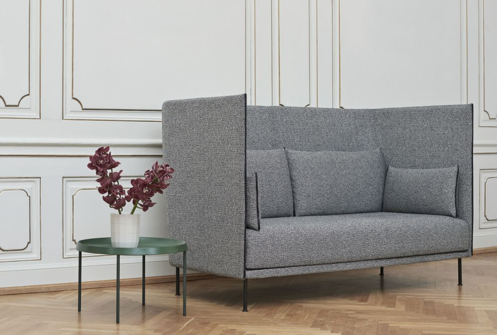 silhouette high backed 2 seater sofa by hay clippings