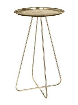 New Casablanca Table Brass by Mineheart