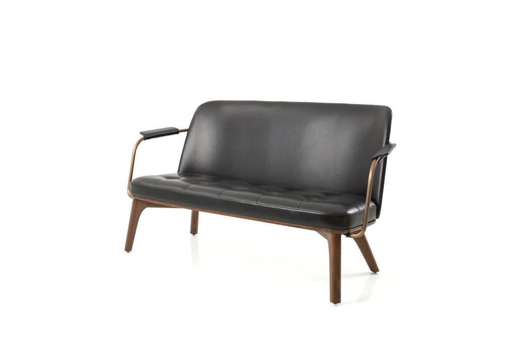 Utility Lounge Two Seater Chair by Stellar Works
