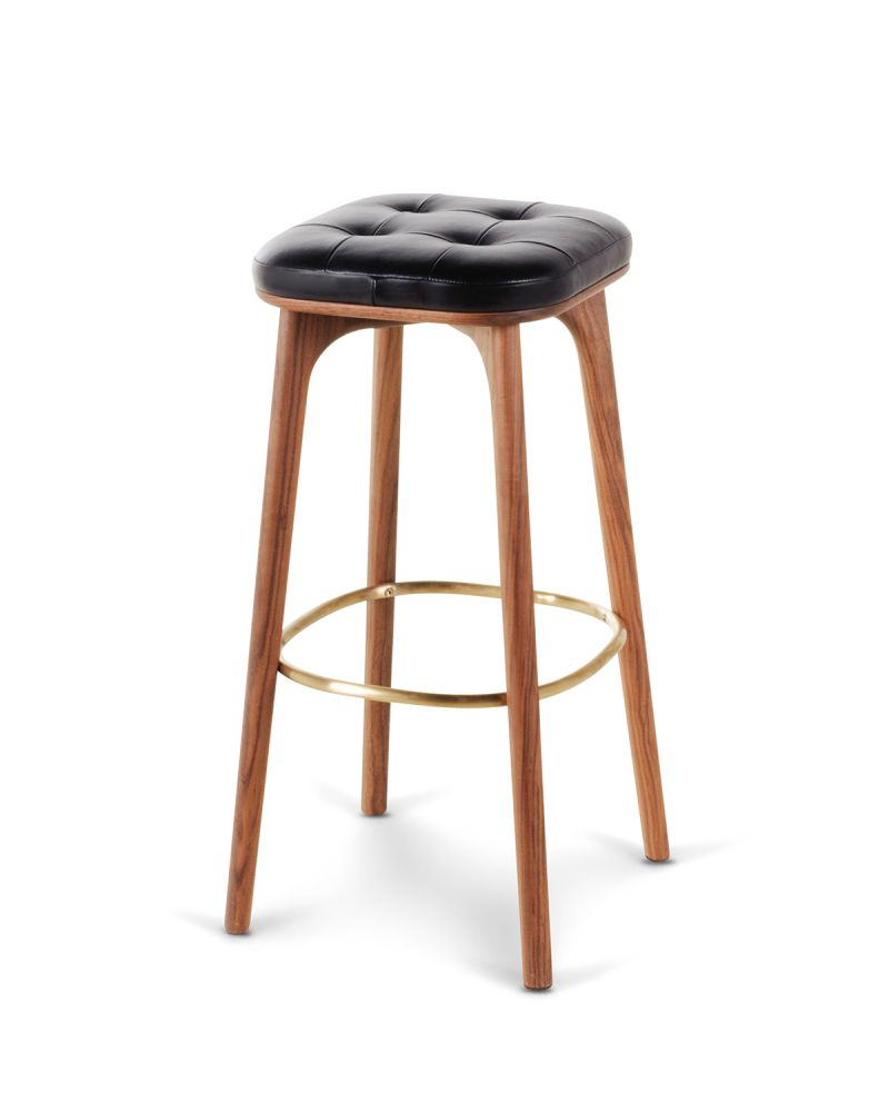 Utility Stool with Footrest by Stellar Works