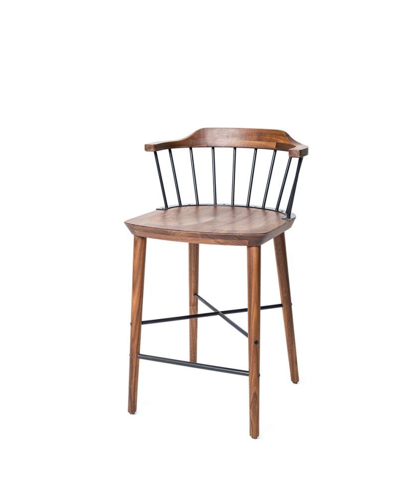 Exchange Bar Chair by Stellar Works