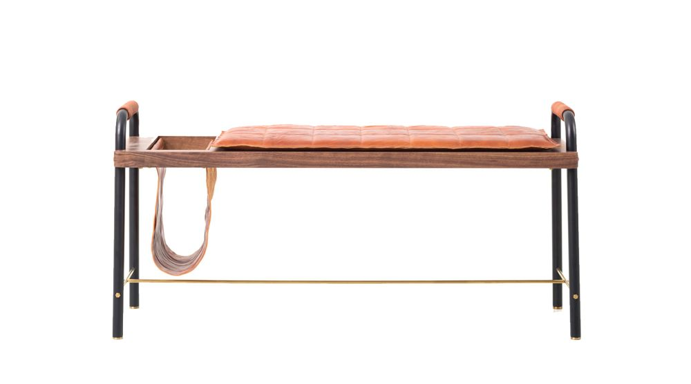 Valet Seated Bench by Stellar Works