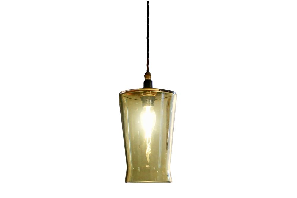 Waisted Flat Top Pendant Light by One Foot Taller