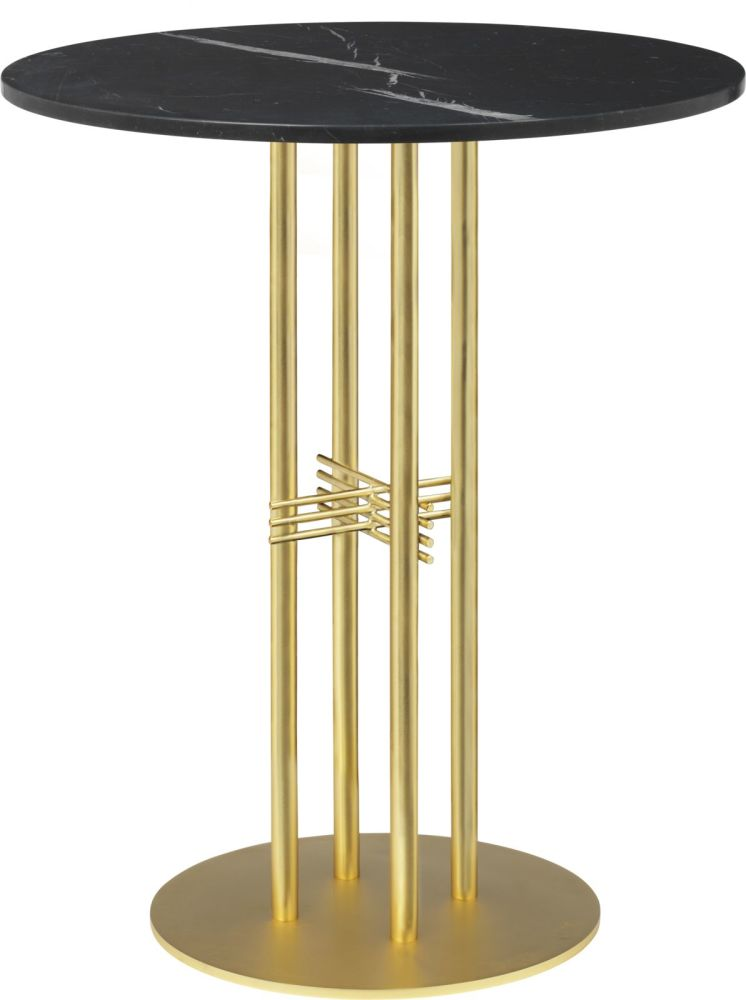 TS Column Bar Table Laminate by Gubi