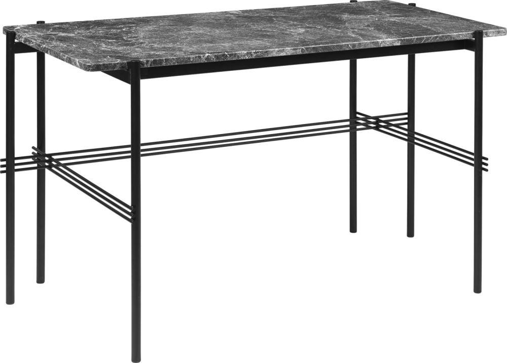 TS Desk Marble by Gubi