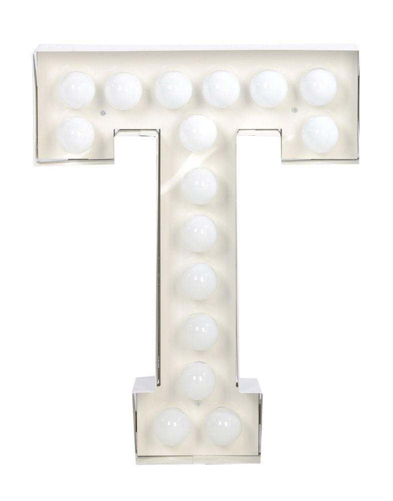 Vegaz Alphabet Lamp by Seletti