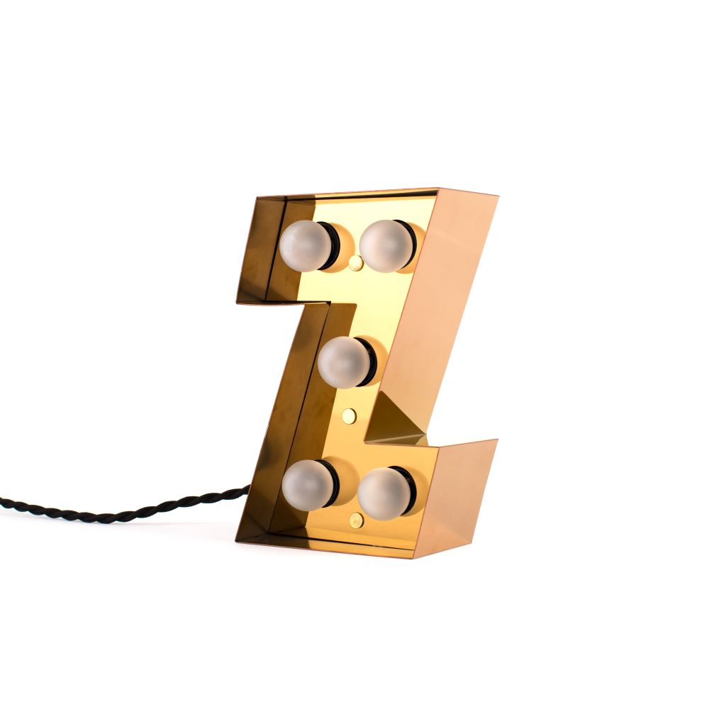 Caractère Alphabet Lamp by Seletti