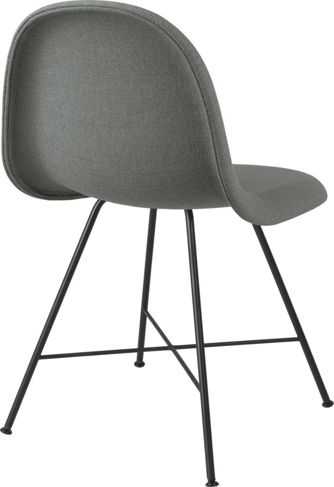 Gubi 3D Dining Chair Center Base - Fully Upholstered by Gubi