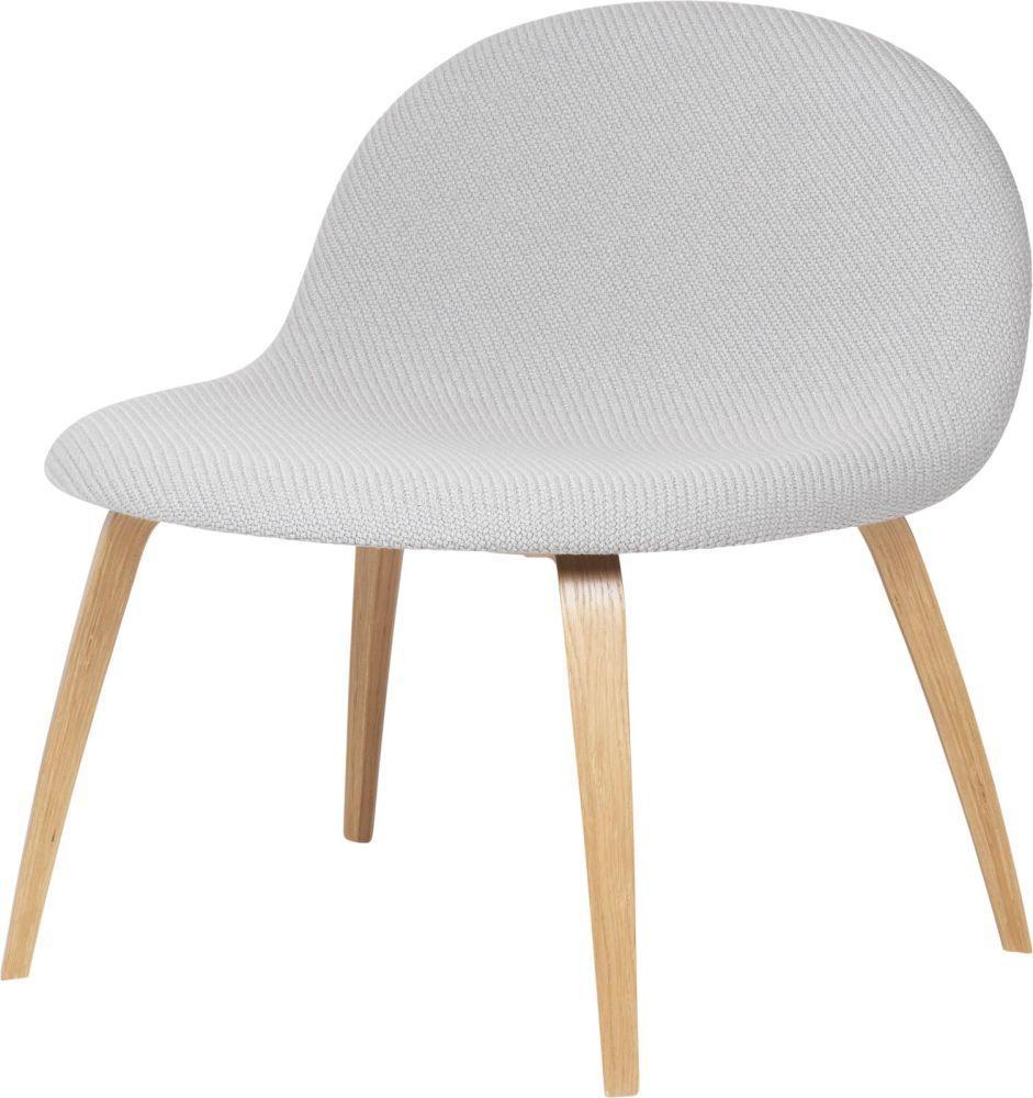 Gubi 3D Lounge Chair Wood Base - Fully Upholstered by Gubi