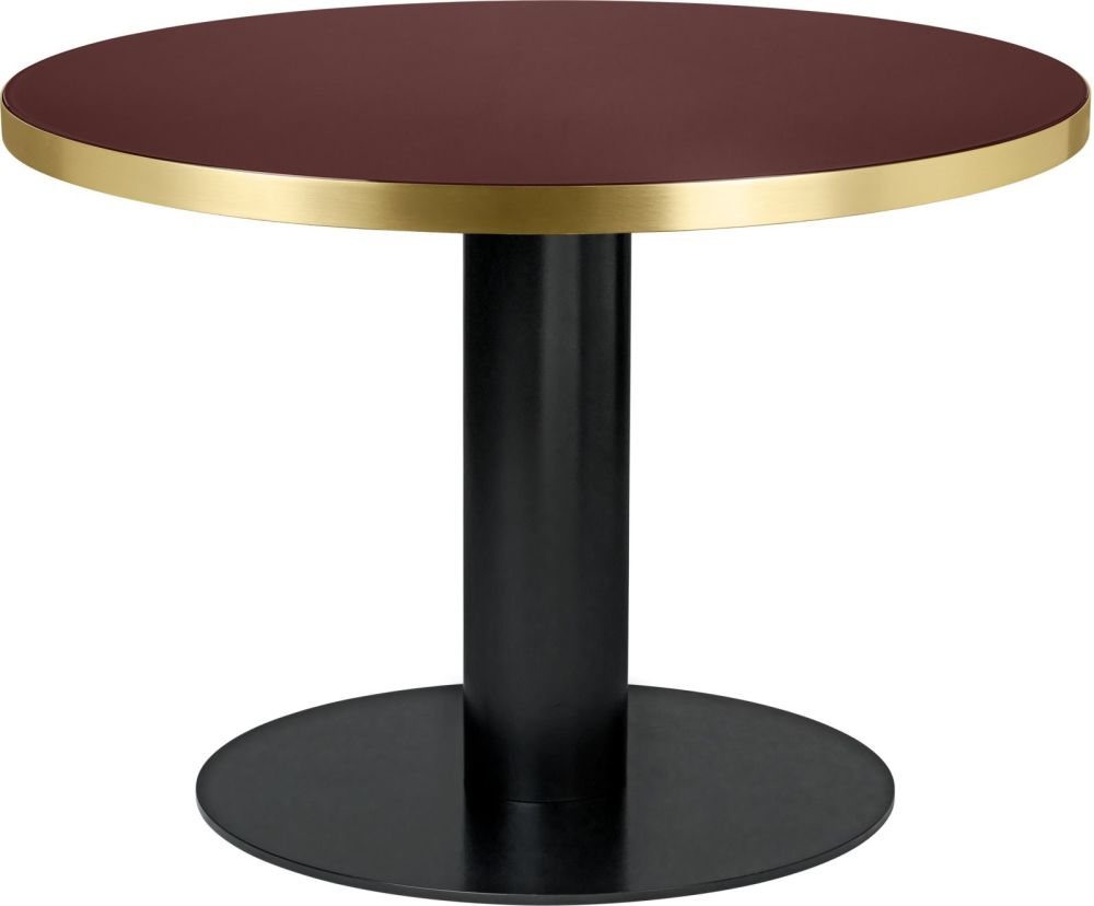 Gubi 2.0 Round Dining Table - Glass by Gubi