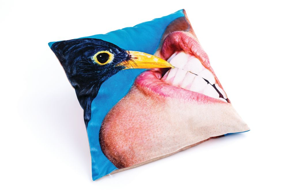 Toiletpaper Pillow by Seletti