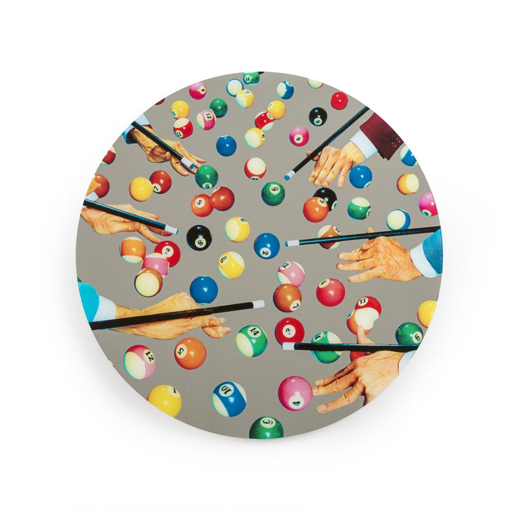 Toiletpaper Round Mirror by Seletti