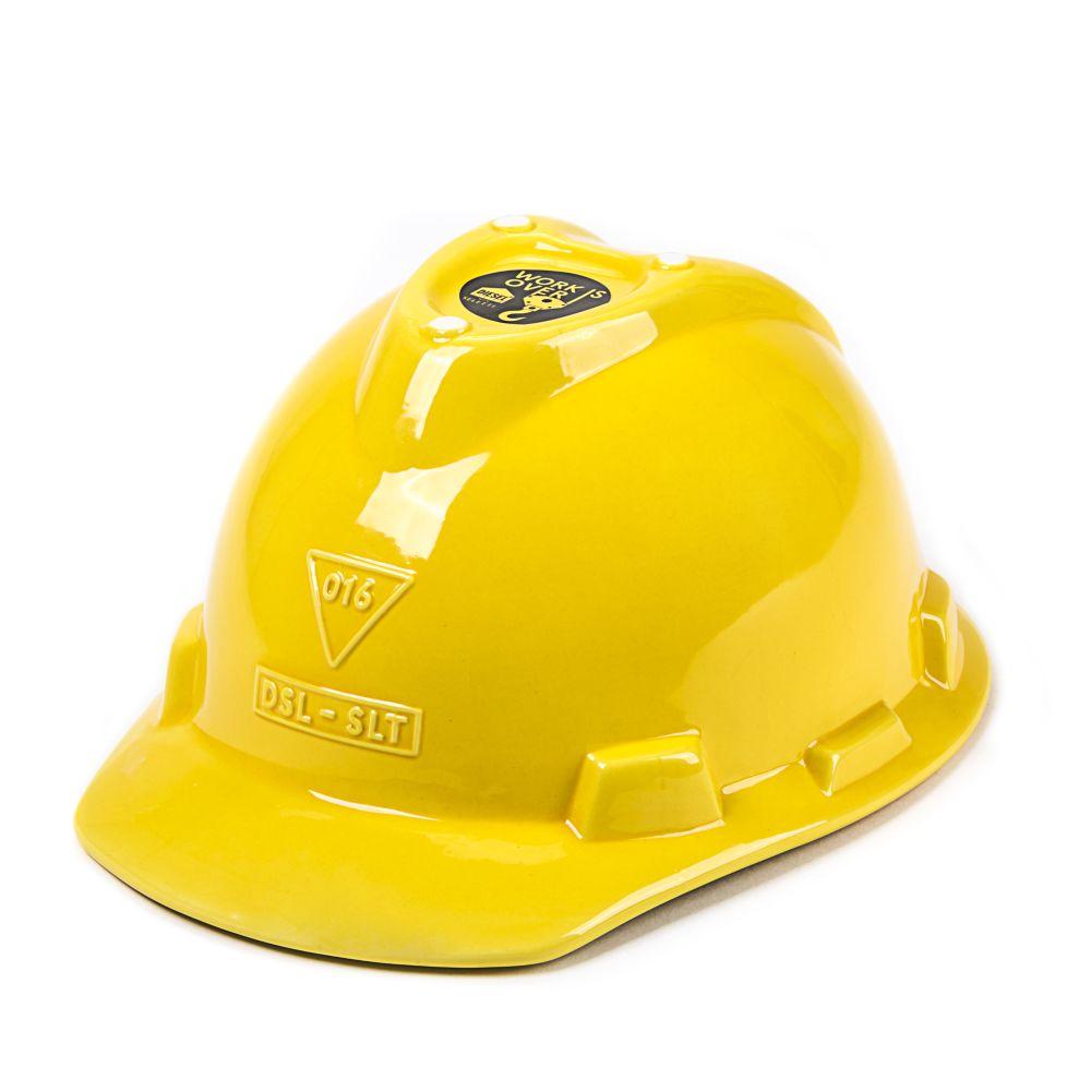 Work Is Over Helmet Box by Seletti