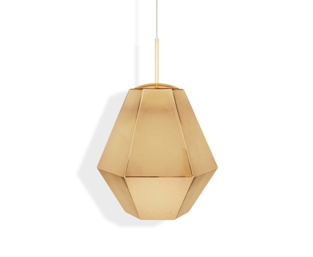 Cut Tall Pendant Lamp by Tom Dixon