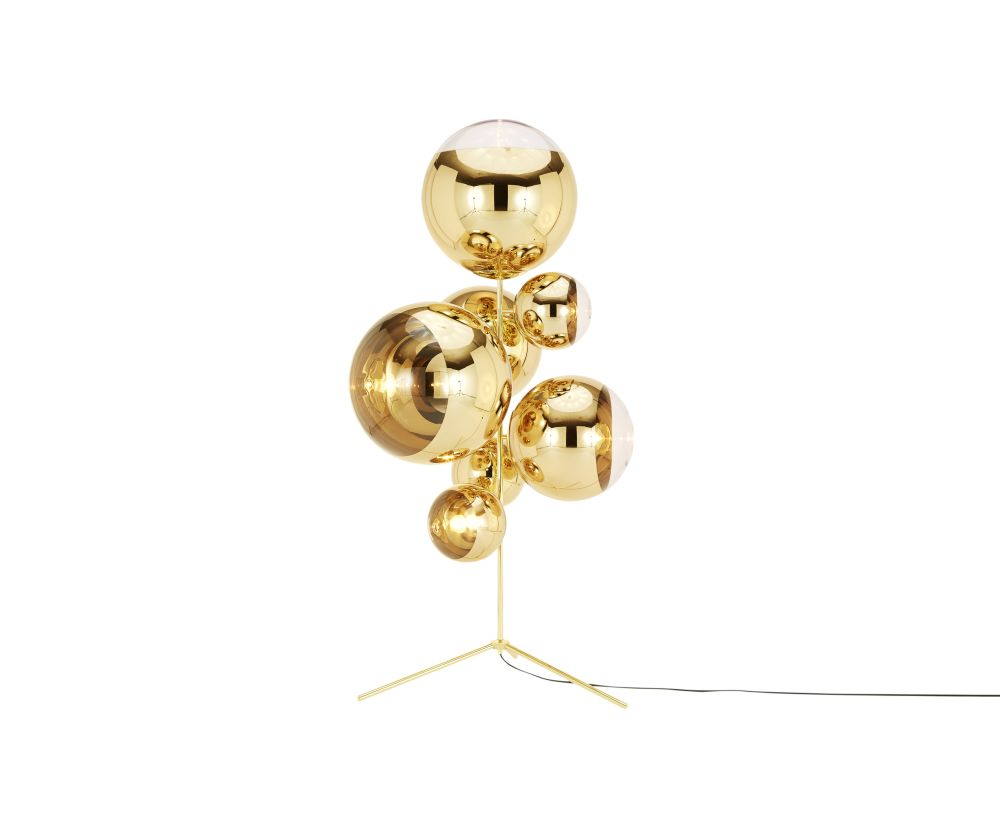 Mirror Ball Stand Chandelier by Tom Dixon