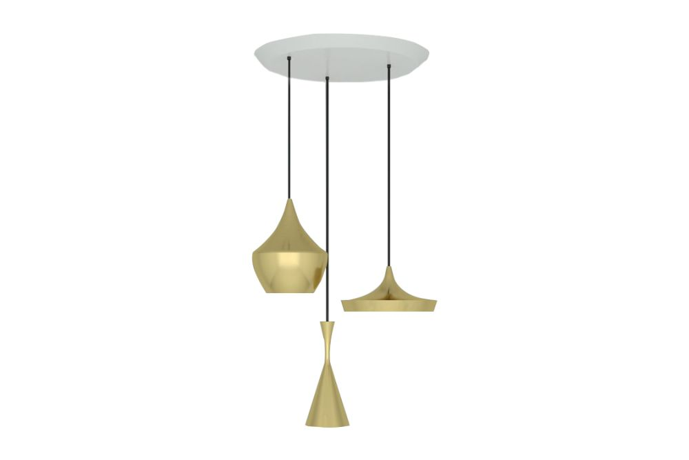 Beat Trio Round Pendant Systems by Tom Dixon