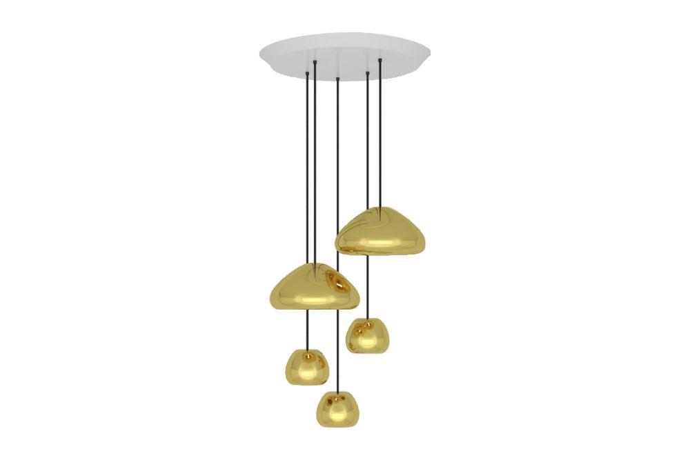 Void range round pendant system brass by tom dixon aloadofball Choice Image