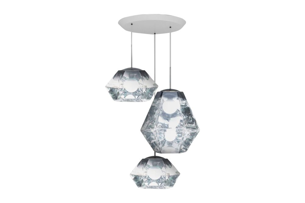 Cut Trio Round Pendant System by Tom Dixon