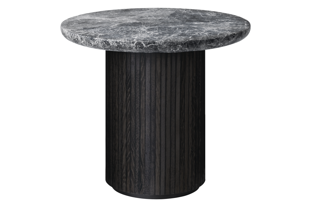 Moon Round Marble Lounge Table by Gubi