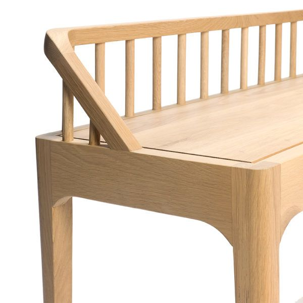 Spindle bench by Ethnicraft