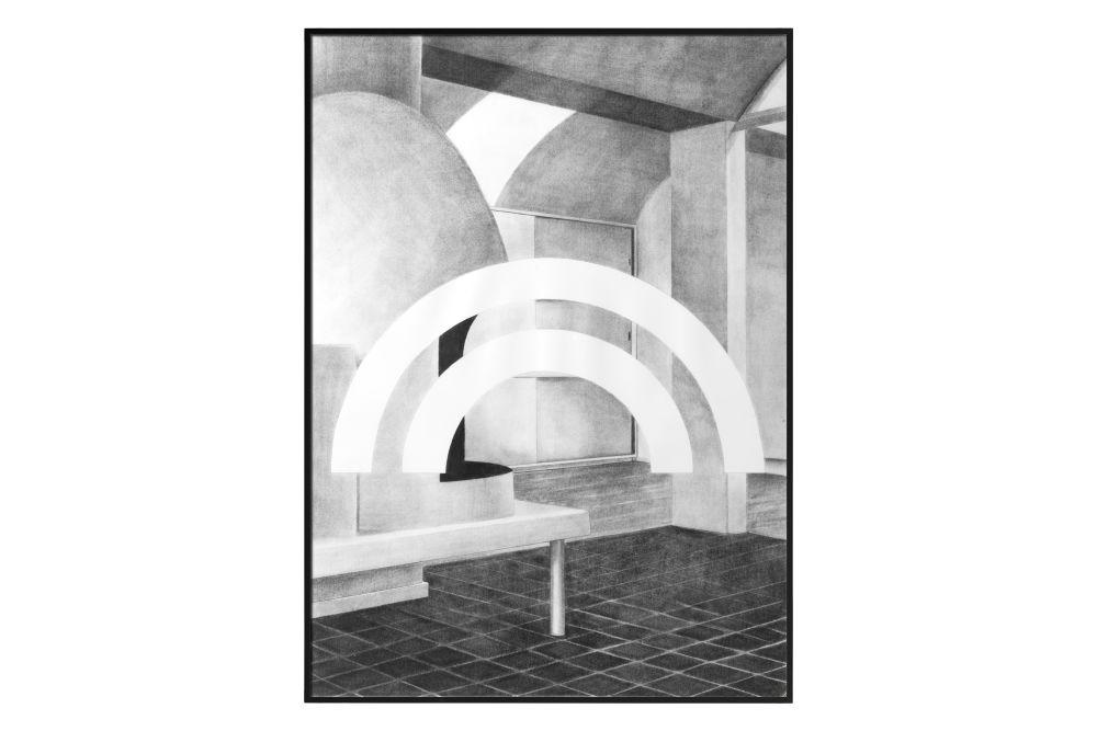 Silhouette Print, 50x70 cm (Set of 2) by by Lassen