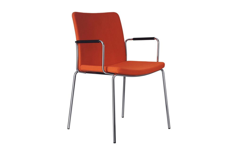 Stella Armchair with Close Armrest by Swedese