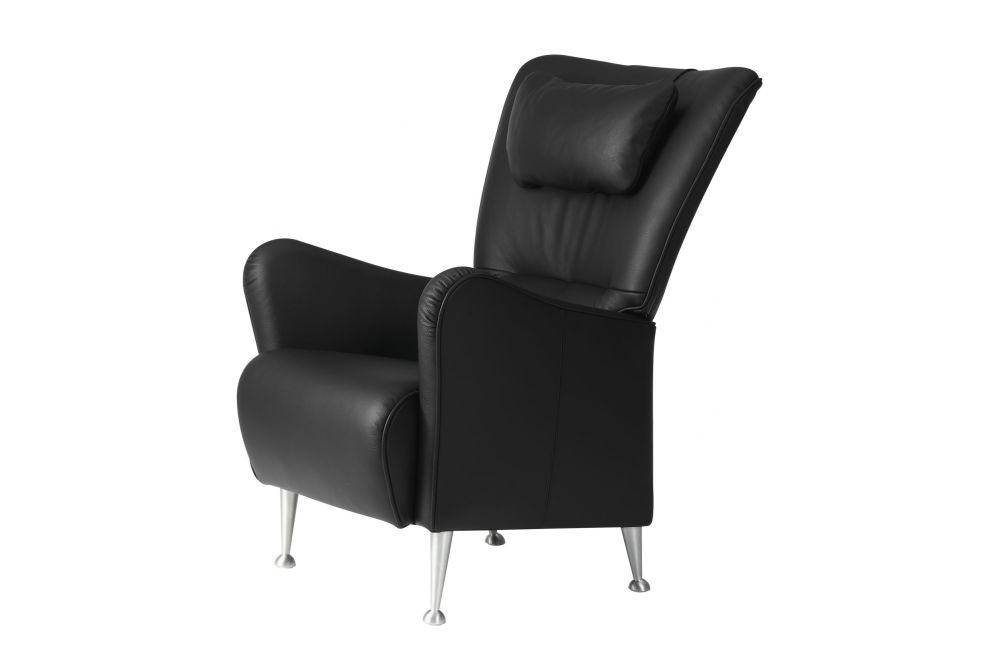 Stepp Easy Chair with Neck Cushion by Swedese