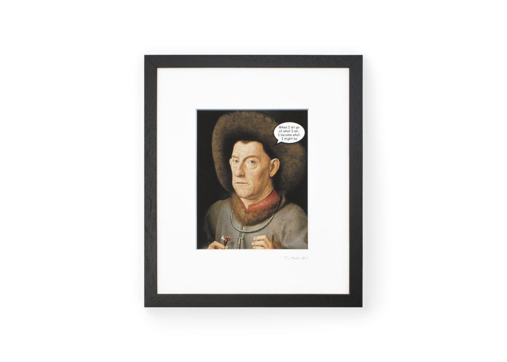 TaoMaster-1 Framed Printed Canvas by Mineheart