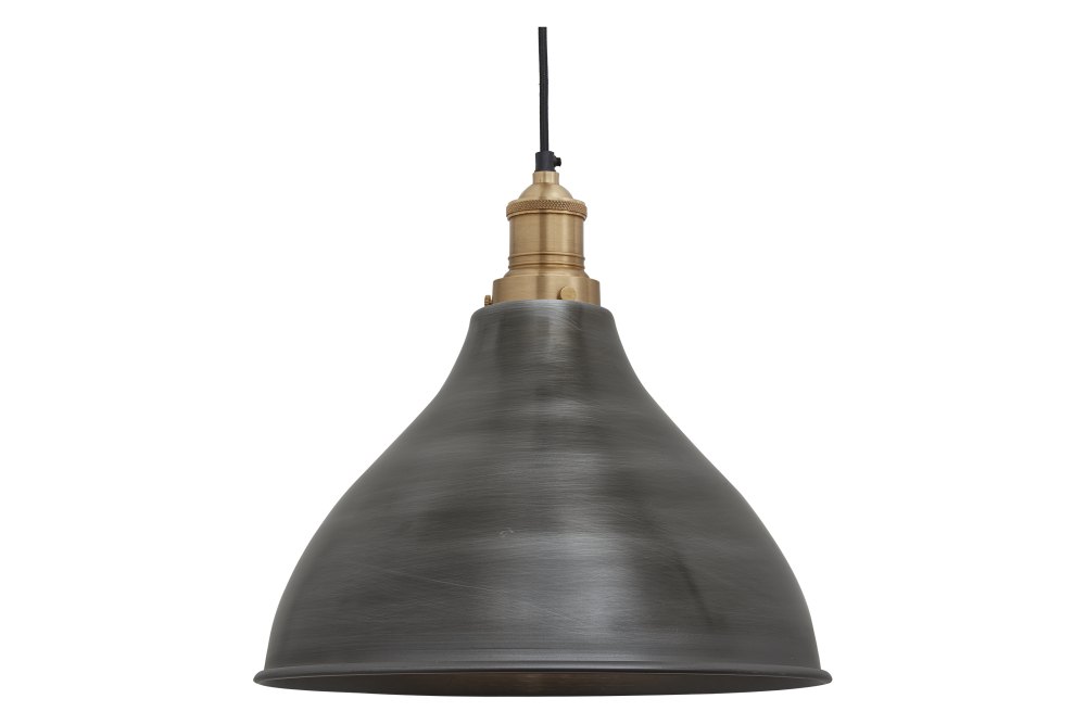 Brooklyn Cone Pendant Light - 12 Inch by INDUSTVILLE