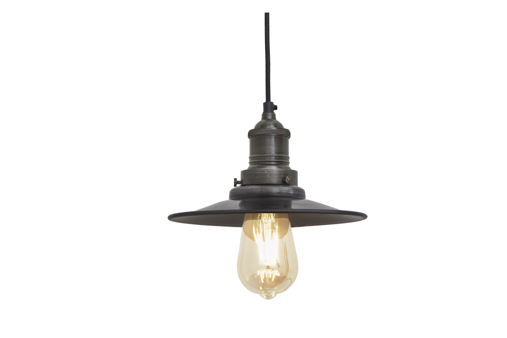 Brooklyn Flat Pendant Light - 8 Inch by INDUSTVILLE