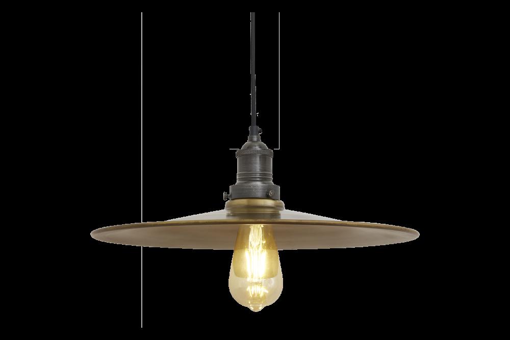 Brooklyn Flat Pendant Light - 15 Inch by INDUSTVILLE