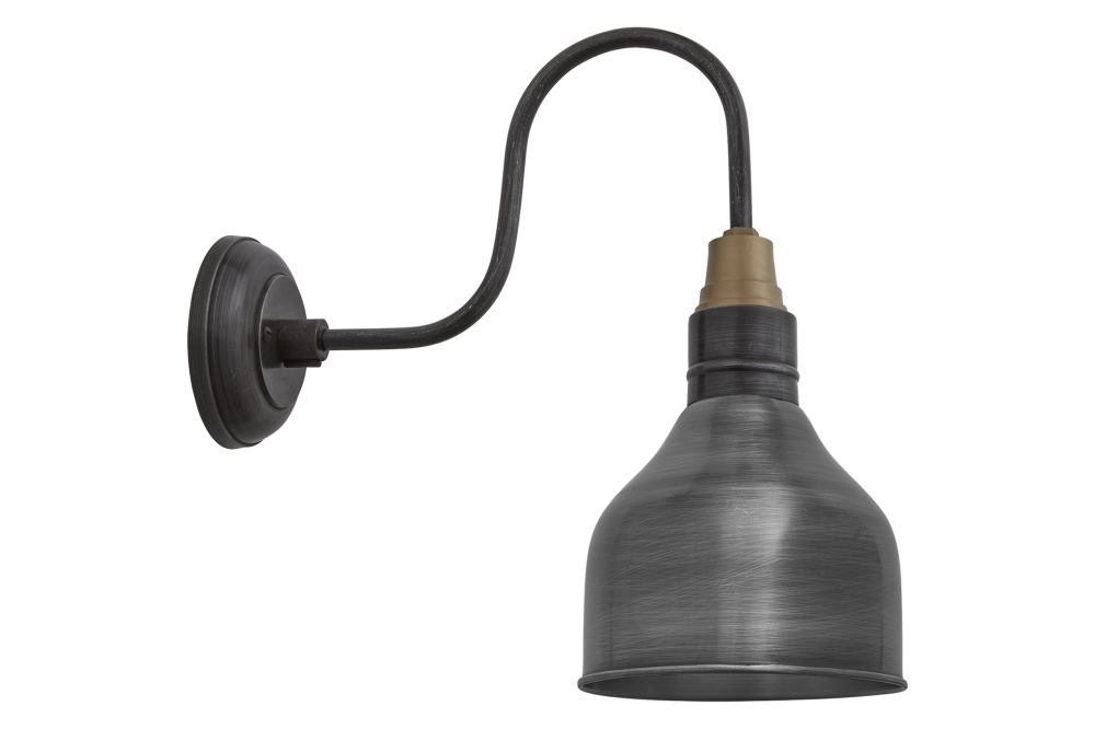 Swan Neck Cone Wall Light - 7 Inch by INDUSTVILLE
