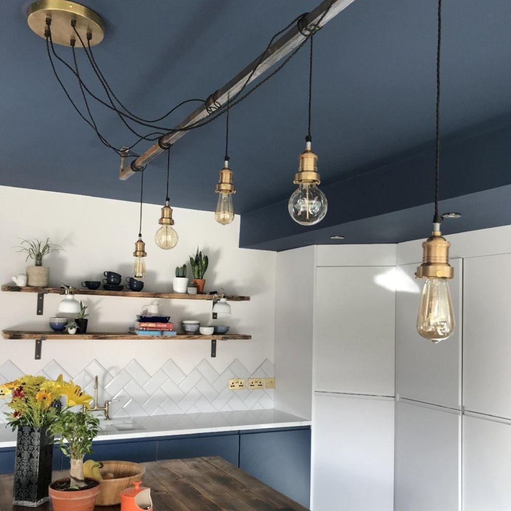 Brooklyn Vintage 5 Wire Pendant Light Wiring Further Ceiling Lights Wires Along With From Industville
