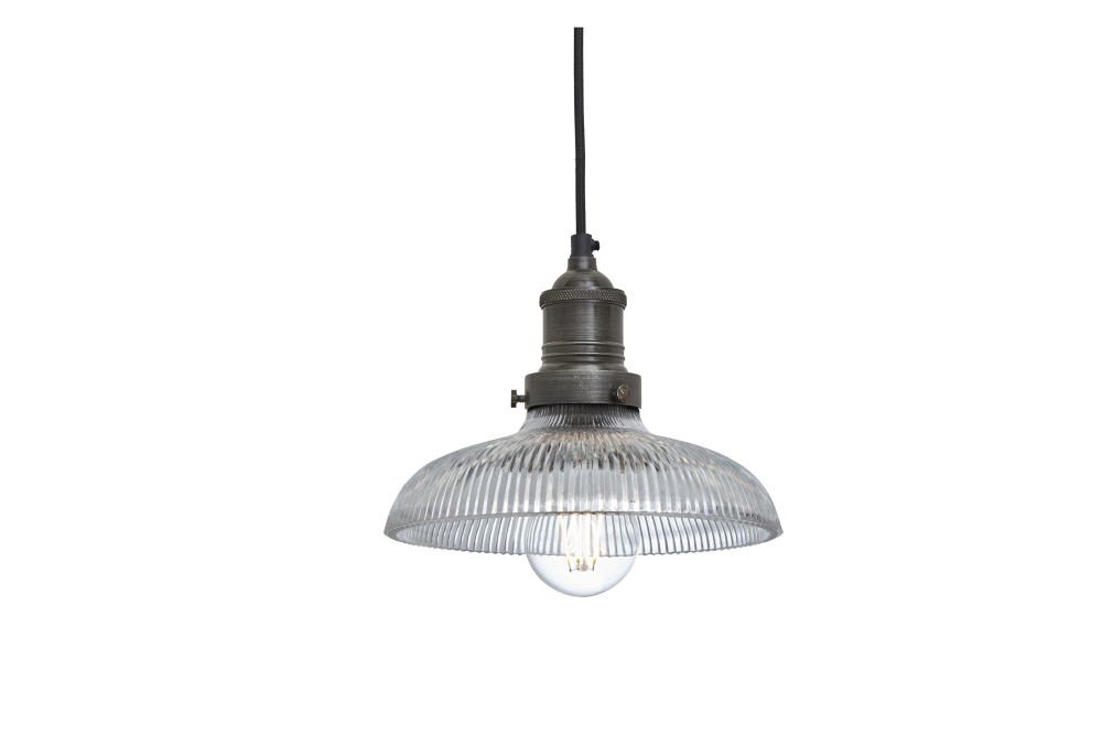 Brooklyn Glass Dome Pendant Light - 8 Inch by INDUSTVILLE