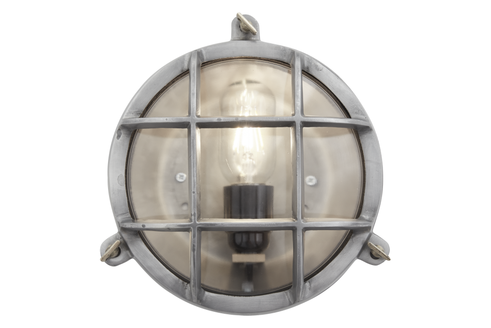 Bulkhead Outdoor & Bathroom Round Light - 8 Inch by INDUSTVILLE