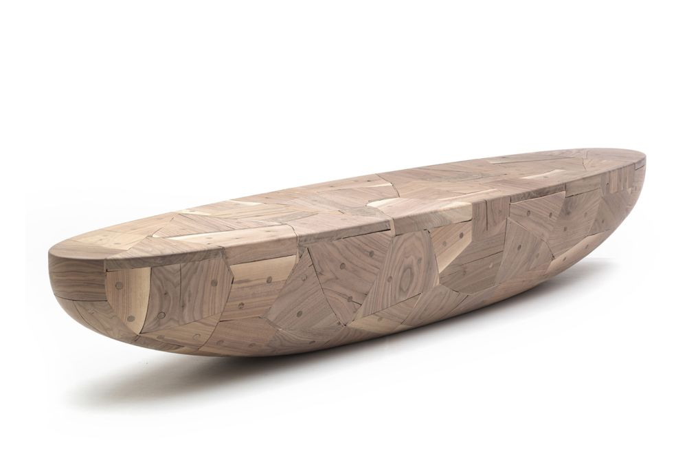 Poh (Patchwork Oval Hemisphere) Bench by Cappellini