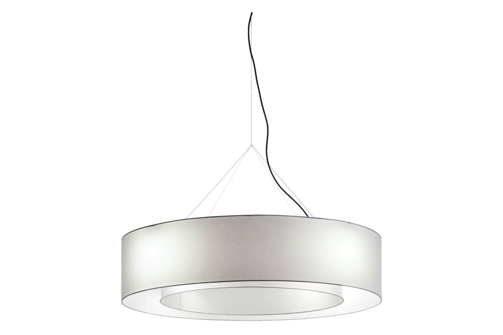 Fabric Hanging Lamp by Cappellini