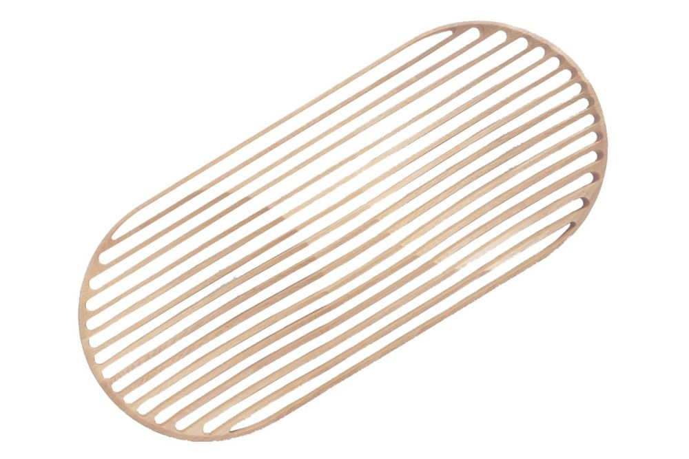 Wooden Tray Double by Cappellini