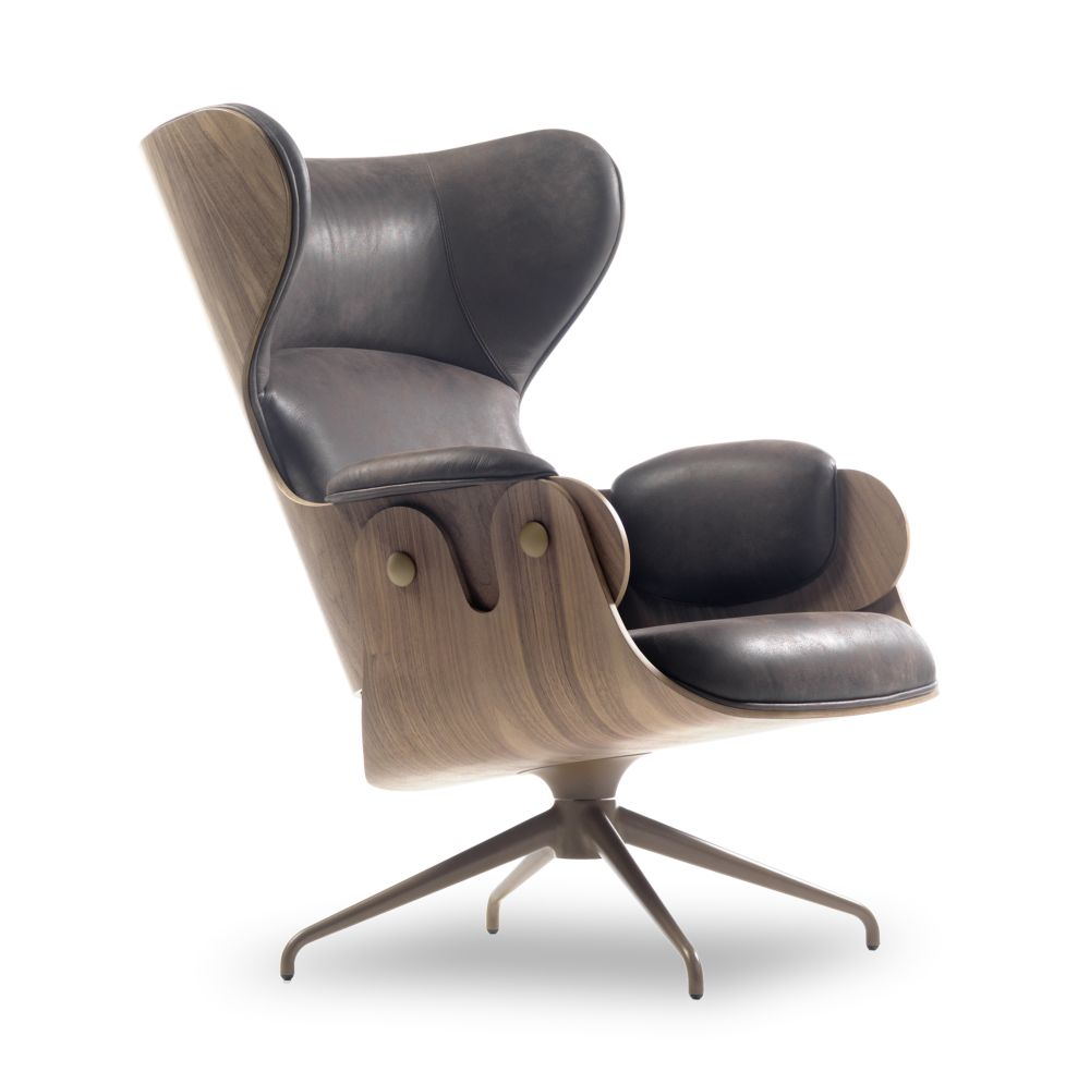 Lounger Armchair - Swivel Base by BD Barcelona