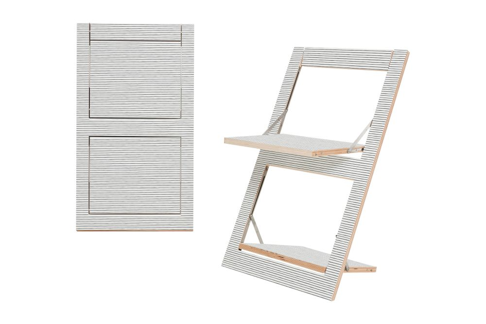 Fläpps Folding Chair by AMBIVALENZ