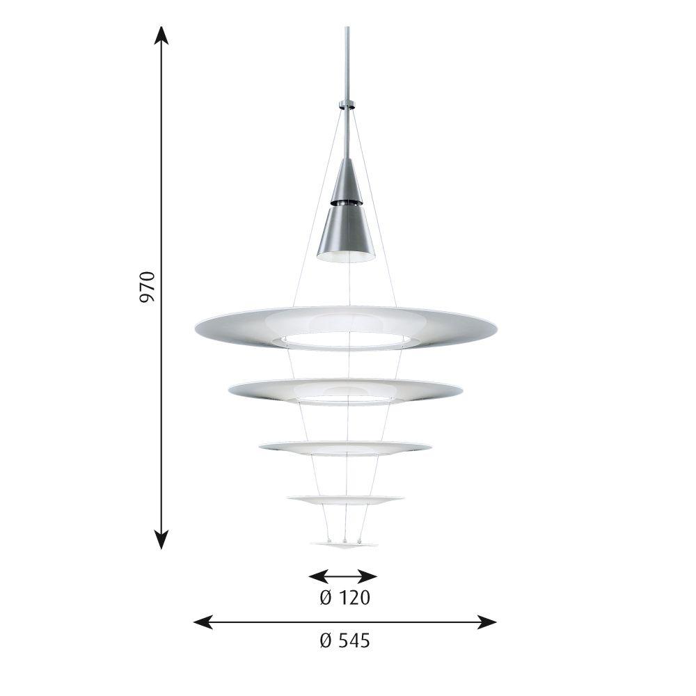 Enigma 545 Pendant Light by Louis Poulsen