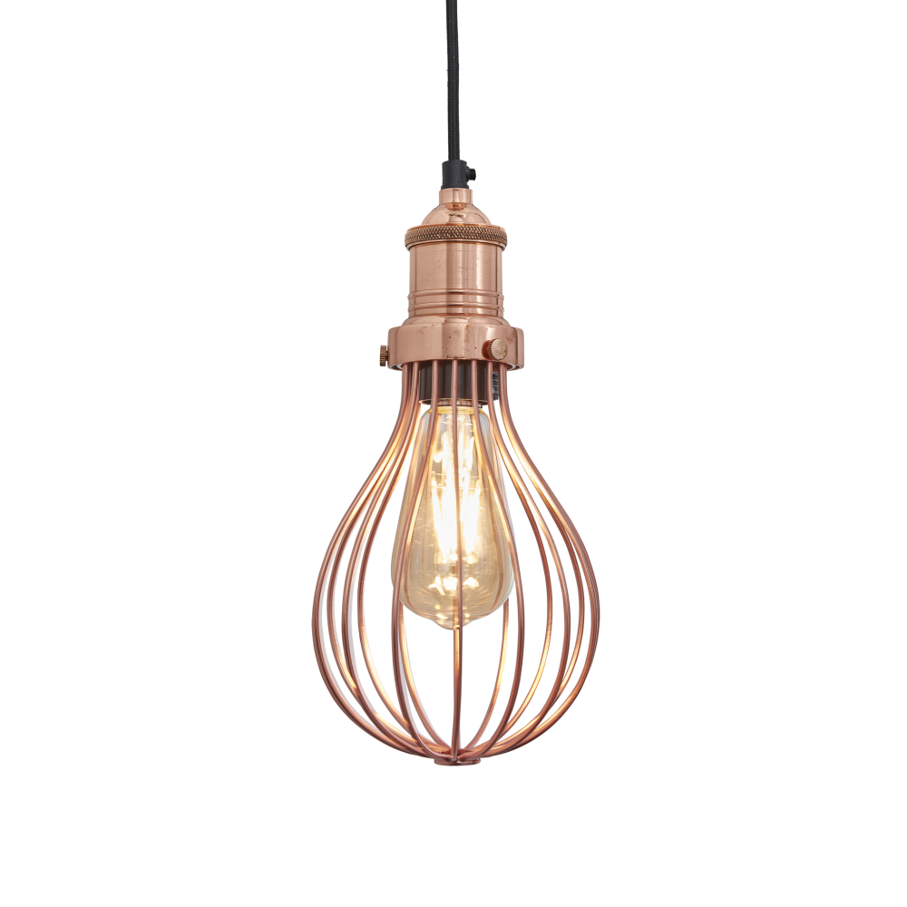 Brooklyn Balloon Cage Pendant Light by INDUSTVILLE