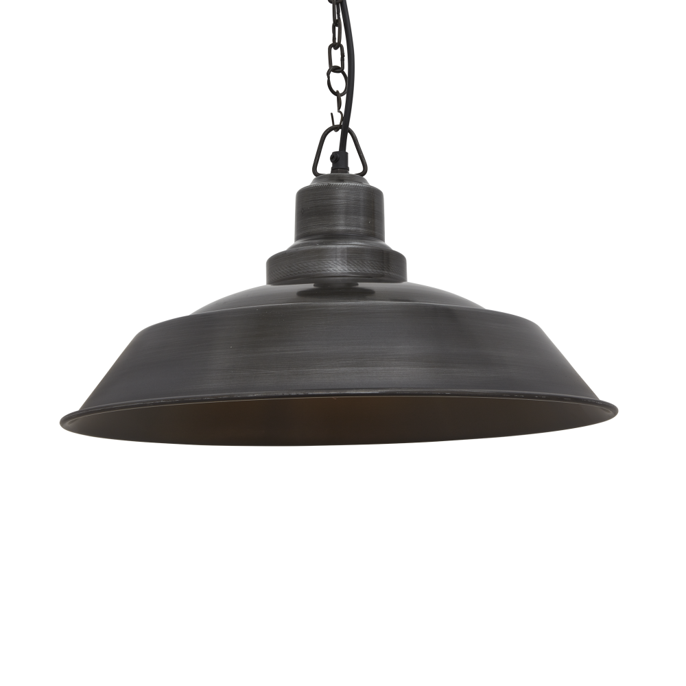 Brooklyn Step Pendant Light - 16 Inch by INDUSTVILLE